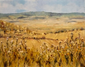 Sicily spring 2. Oil on canvas; 20x18in